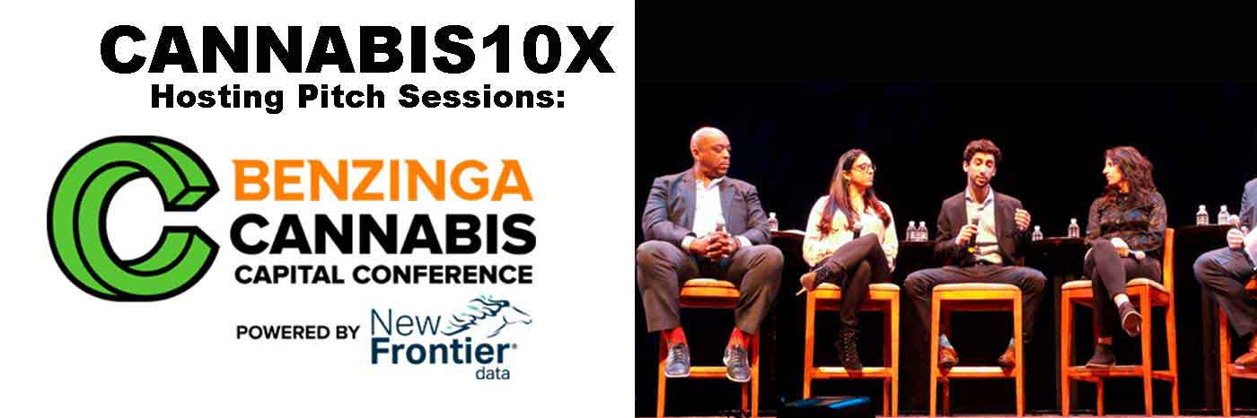 Benzinga Cannabis Capital Conference Pitch Sessions