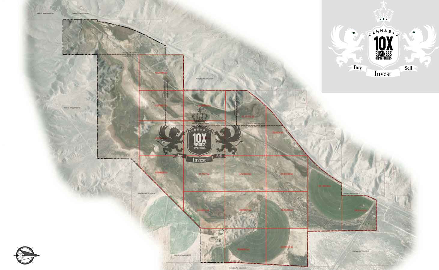 Nevada Cultivation License For Sale Site Plan 1