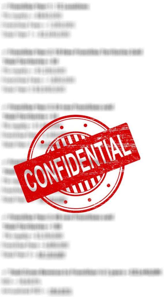Franchise Proforma Confidential